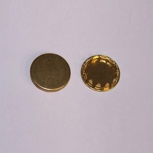 solid brass plug buttons